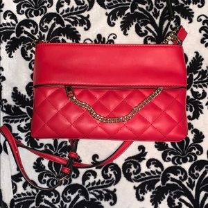 Red Aldo Crossbody Purse
